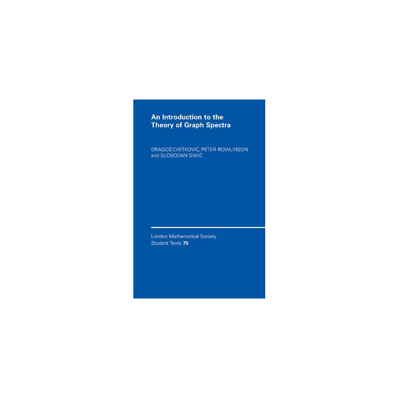 【预订】An Introduction to the Theory of Graph Spectra 预订商品,需要1-3个月发货,非质量问题不接受退换货。