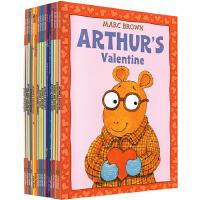 Arthur's 英文原版 亚瑟小子系列17册合售 儿童绘本图画书 Eyes/Pet Business/Christm