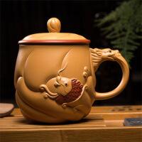 宜兴紫砂杯纯全手工非陶瓷办公室水杯子礼品杯功夫茶具茶杯定制