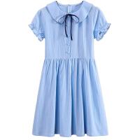 童装女童连衣裙夏季中大童女装夏装12岁孩裙子长裙