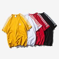 情侣装韩版男女宽松开学季学生POLO衫夏装新款2018短袖T恤上衣