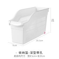 【新品特惠】YAMADA日本进口带滑轮橱柜收纳篮置物架下水槽收纳架厨房收纳盒筐