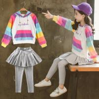 女童套装2020新款春款时髦韩版网红夏装春季秋装裙公主11