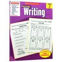 美国小学二年级英语写作练习册 学乐进口英文原版英语教材 Scholastic Success with Writing
