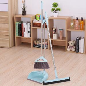 物有物语 扫帚簸箕刮水器套装 家用三件套扫把簸箕套装刮水器扫帚组合卧室卫生间塑料扫地笤帚清洁工具
