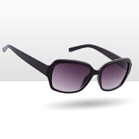 居家家经典茶色方框太阳镜女士塑料镜框墨镜夏日韩版时尚遮阳眼镜