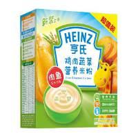 【当当自营】亨氏 Heinz鸡肉蔬菜营养米粉超值装2段(6-36个月)400g/盒 宝宝辅食(团购电话:010-57992568)