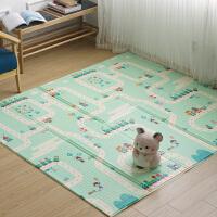 儿童无味厚爬行垫折叠婴儿客厅泡沫爬爬垫宝宝双面垫