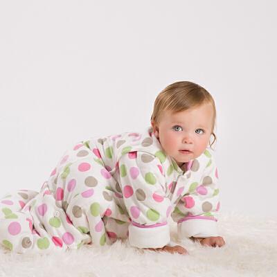 davebella戴维贝拉宝宝防踢儿童加厚保暖睡袋DB4650戴维贝拉 每周二上新 0-6岁品质童装