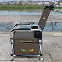 钓椅钓鱼椅可升降多功能便携折叠椅台钓筏钓钓鱼凳