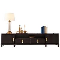 新中式实木电视柜客厅储物柜米地柜现代米矮柜禅意家具 色 组装