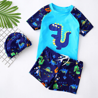 儿童泳衣 分体男童泳裤游泳衣套装 宝宝小中大童游泳装备