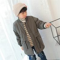 童装男童棉衣外套2017冬季新款韩版儿童中长款加厚冬装保暖