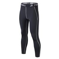 男运动紧身长袖紧身衣跑步篮球足球打底裤健身裤速干训练弹力裤