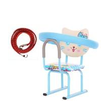 电瓶车儿童座椅前置踏板电动车宝宝电动摩托车小孩婴儿电车坐加装新品 天蓝猫无叫声 +2条绑带