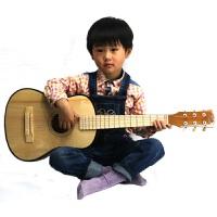30寸学习型木质儿童吉他乐器 可弹奏六弦儿童乐器非玩具送教程