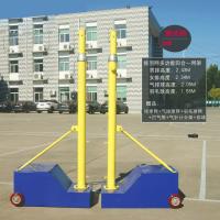 标准排球柱移动式气排球网架子 排球架四合一可升降排球网架