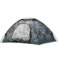 户外露营野营用品四人数码迷彩帐篷单层帐篷防风防雨野营露营户外帐篷