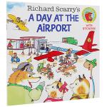 正版现货 飞机场的 英文原版绘本 Richard Scarry's A Day at the Airport 斯凯瑞金