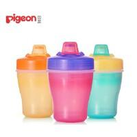 贝亲(Pigeon) 贝亲婴儿双层保温饮水杯 宝宝喝水杯 鸭嘴学饮杯150ml