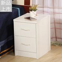 新款迷你床头柜床边柜简约现代小型小尺寸卧室窄25厘米30cm35白色定制 组装