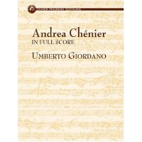 英文原版Andrea Chenier in Full Score (Dover Music Phoenix Editions),佐丹奴《安德莱・谢尼埃总谱》,精装,ISBN=9780486431161