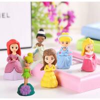 迪士尼可爱创意公主造型橡皮擦 学生奖品 女孩礼品可拆装卡通橡皮包邮