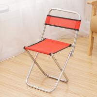 折叠凳子便携式迷你金属矮马扎休闲户外钓鱼小椅子火车靠背椅