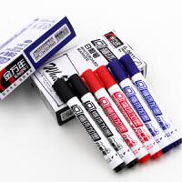 金万年Genvana可循环加墨白板笔 G-0611 红色 10支装