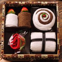 【满99立减50 仅限一天】物有物语 活动礼品毛巾礼盒 创意蛋糕毛巾实用母亲节生日礼物结婚回礼送员工送客户活动礼物