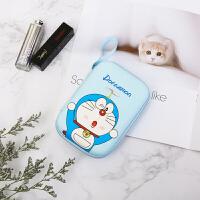 数据线收纳包便携卡通可爱韩版迷你充电器耳机收纳盒随身硬盘包