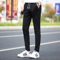 运动裤男长裤薄款直筒卫裤弹力裤健身跑步透气青年修身休闲裤