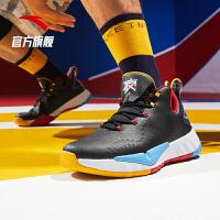 【限时秒杀!】安踏速战3代篮球鞋男鞋官网旗舰2020春季新款要疯运动鞋11941607