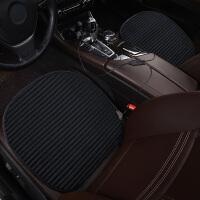 汽车坐垫冬季毛绒座椅加热车垫子短毛绒冬天两座无靠背保暖电加热
