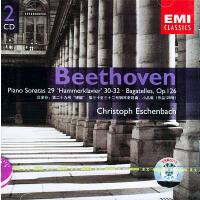 """�多芬:第二十九�""""�N�I""""、第三十到三十二��琴奏�Q曲,小品集(作品126�)(CD)"""