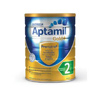 【当当海外购】澳洲进口 新西兰可瑞康Aptamil爱他美 金装婴幼儿奶粉2段(6-12个月宝宝) 900g