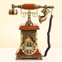 电话机红兔子 异国风情欧式电话机韩式古董仿古电话美式家用复古老式电话机客厅座机礼品
