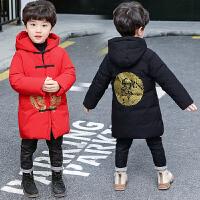 洋气中大童加厚10-15岁潮男童中国风冬季唐装棉衣拜年服