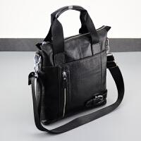 男包男单肩斜挎包休闲大容量竖款手提包背韩小包