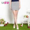 lagogo拉谷谷2014夏季新款条纹显瘦时尚包臀女半裙