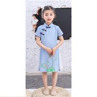 儿童演出服装民国风童装男女童小学生表演服汉服幼儿合唱园服