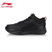 李宁休闲鞋男鞋新款LN Defender耐磨防滑时尚经典男士冬季小黑鞋低帮运动鞋AGCN123