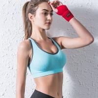 运动内衣女跑步防震健身薄款聚拢无痕背心大码无钢圈文胸罩