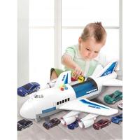 3-6岁男孩玩具车模型儿童玩具战斗机音乐直升机大号惯性飞机