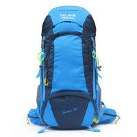 登山包大容量双肩包男女旅行背包户外野营装备45L透气露营包