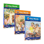Key Words 2a2b2c 3本套装 适合4-5岁初学者 英语学习与儿童成长故事融合2a We have fun