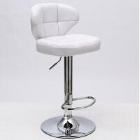 20190720190754384欧式吧台椅酒吧椅高脚桌椅收银吧凳升降旋转前台家用靠背学习椅子