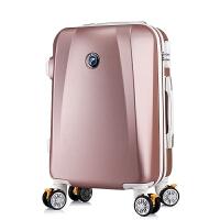 箱子行李箱女皮箱拉杆箱女可爱小清新个性20寸24寸万向轮旅行箱 20寸 坚硬防刮