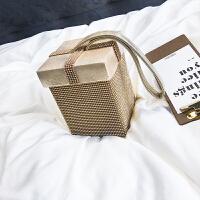 夏季小包包女2018新款潮镶钻手提包韩版时尚百搭气质包少女小方包