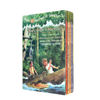 顺丰发货 Magic Tree House Boxed Set 神奇树屋第5-8部盒装 英文原版读物 (Mary Pope Osborne)忍者之夜 亚马孙河下午 剑齿虎的日落 和月光下的午夜